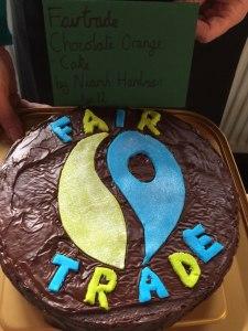 Niamh Hardman - fair trade cake